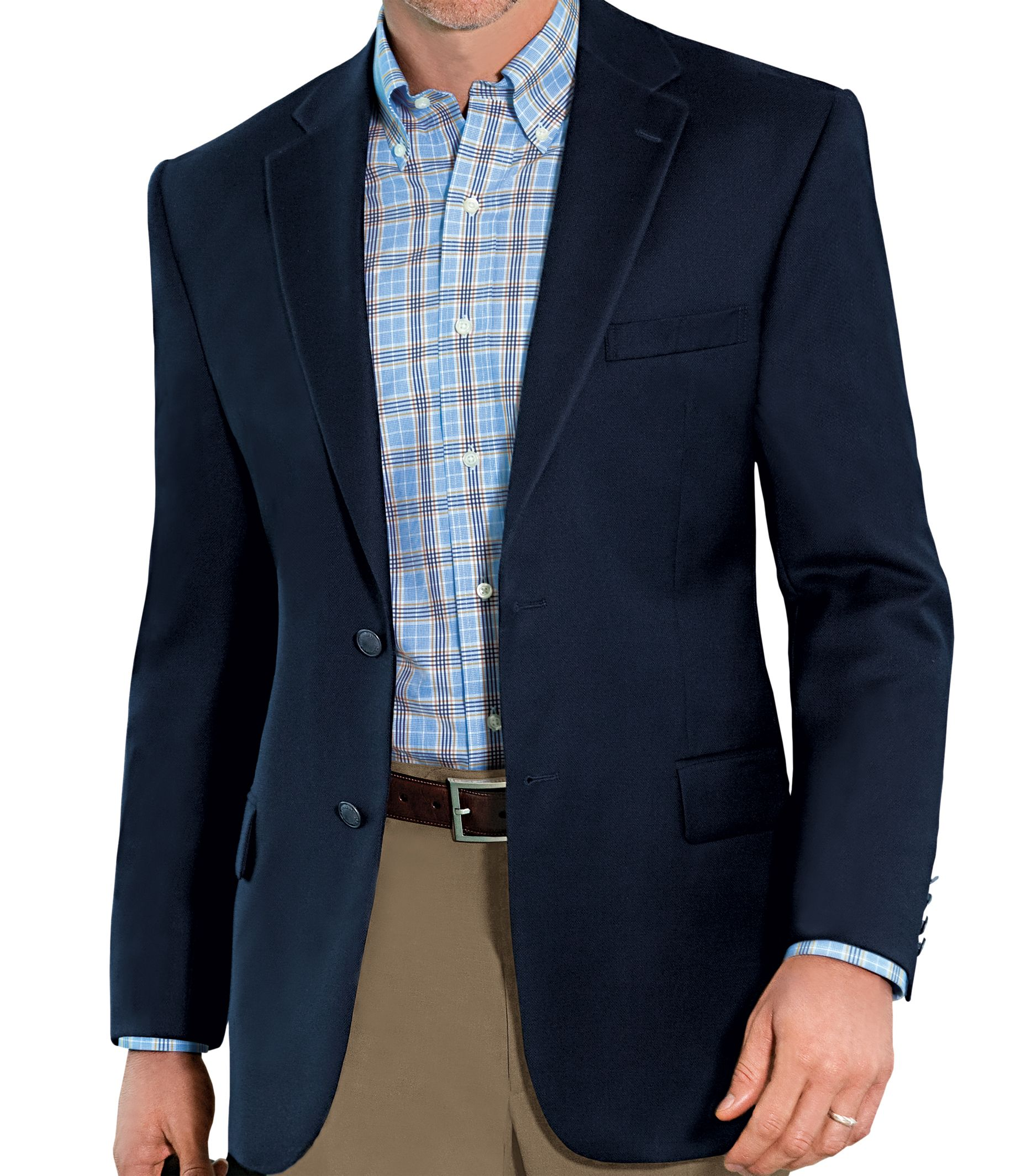 Traveler Collection Tailored Fit Blazer - Traveler Sportcoats ...