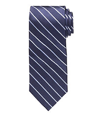 Executive Wide Repp Thin Stripe Tie
