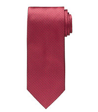 Red Pindot Tie