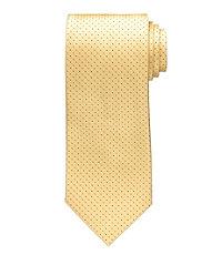 Yellow Pindot Tie