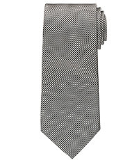 Black/White Houndstooth Tie