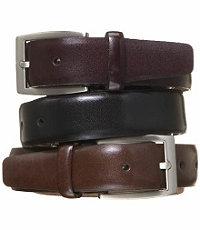 Feather Edge Dress Belt- Sizes 50-54