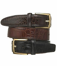Moc Croc Dress Belt- Sizes 50-52