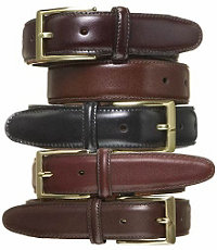 Calfskin Dress Belt- Sizes 50-56
