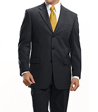 Traveler Suit Separate 3-Button Jacket Extended Sizes