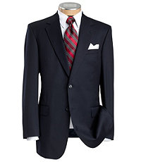 Executive 2-Button Wool Suit- Big & Tall Sizes
