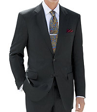 Traveler Tailored Fit 2-Button Suits Plain Front Sizes- Sizes 42 X-Long-52