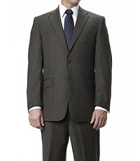 Traveler Tailored Fit 2-Button Suits Plain Front Trousers