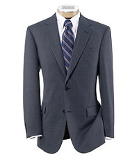 Signature 2-Button Wool Patterned Sportcoat- Sizes 44-52