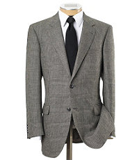 Signature 2-Button Plaid Sportcoat- Sizes 44-52