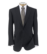 Signature Platinum Wool 2-Button Side Vent Suits- Sizes 48-52