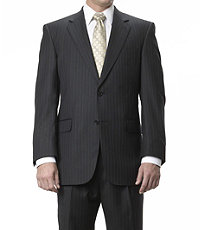 Signature Gold 2-Button Wool Suit- Sizes 44 X-Long-52