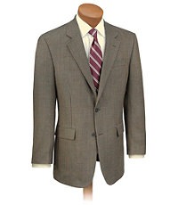 Executive 2-Button Fleece Rich Wool Sportcoat