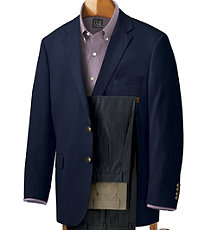 Executive 2-Button Wool Blazer- Sizes 44-52