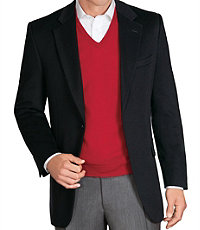 Executive 2-Button Cashmere Blazer- Sizes 44-52