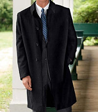 Signature Cashmere Three-Quarter Length Topcoat- Sizes 44-52