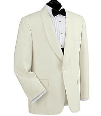 White Dinner Tuxedo Jacket- Sizes 48-52