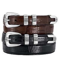 Four-Piece Moc Croc Golf Belt- Sizes 44-48
