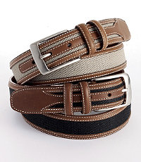 VIP Web Inlay Casual Belt- Size 44