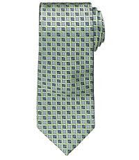 Executive Basketweave Blue Boxes Tie
