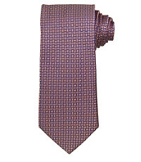 Joseph Small Satin Basketweave Long Tie