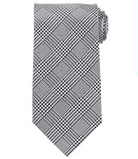 "Glen Plaid 61"" Long Tie"
