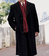 Signature Cashmere Big/Tall Topcoat- Sizes 54-56