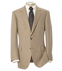 Signature 2-Button Herringbone Sportcoat- Sizes 52-60