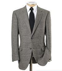Signature 2-Button Plaid Sportcoat- Sizes 52-60