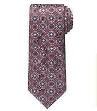 Signature Geo Medallion Tie