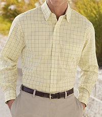 Traveler Buttondown Long-Sleeve Sportshirt Big/Tall