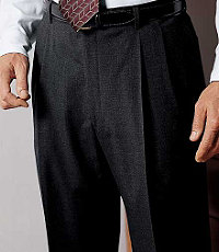 Signature Pleated Front Trousers- Sizes 48-52