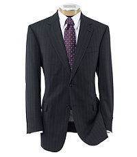 Signature 2-Button Imperial Wool/Silk Blend Suit