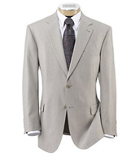 Signature 2-Button Imperial Wool/Silk Blend Suit- Sizes 44-52