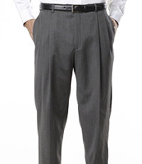 Signature Pleated Trousers in Regal Fit
