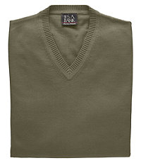 Signature Cotton Sweater Vest