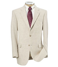 Tropical Blend 2-Button Linen/Wool Regal Fit Sportcoat- Sizes 42-56