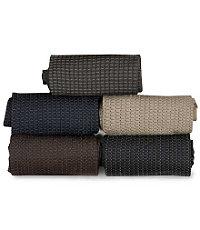 Mini Square Grid Mid-Calf Socks
