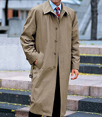 Full Length Tri-Blend Raincoat