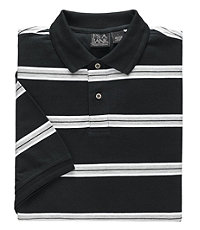 Traveler Tailored Fit Patterned Polo