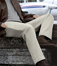 VIP Take It Easy Plain Front Pants