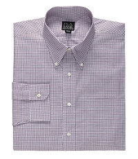 Executive Collection Buttondown Collar Pattern Dress Shirt