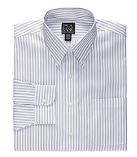 Traveler Buttondown Triple Stripe Dress Shirt