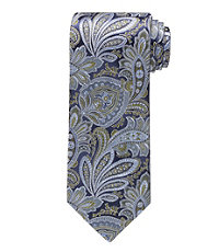 Signature Feather Paisley Tie