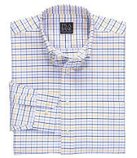 Traveler Buttondown Long Sleeve Patterned Oxford Sportshirt Big/Tall
