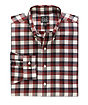 Traveler Buttondown Collar Tartan Plaid Sportshirt