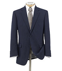 Linen 2-Button Suit with Plain Front Trousers