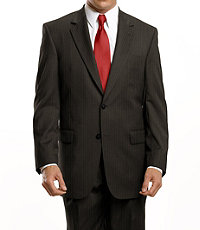 Executive 2-Button Wool Pleated Suit Regal Fit