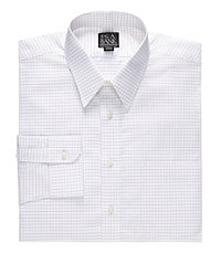Executive Collection Point Collar Pattern Dress Shirt