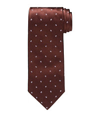 Signature Platinum Small Dot Tie